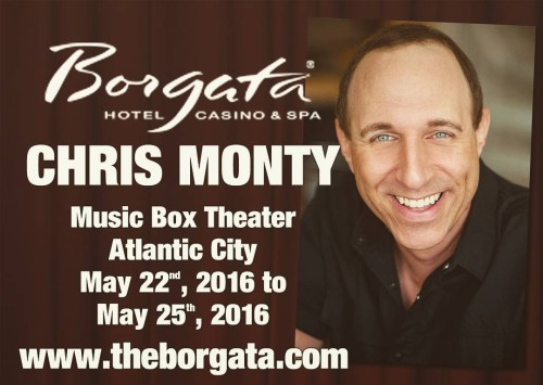 Starting tomorrow thru Wed 9pm each night! atlanticcity Borgata greatshow