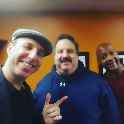Greenroom chilling with coreyhunt711 and Irwin Loring Hartford CT comedyscenehellip