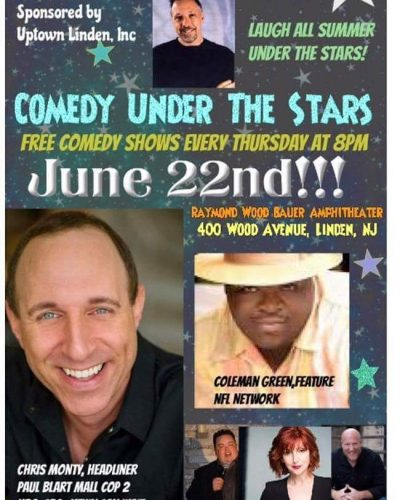 Tonight! NJ summerfun comedyscene chrismonty