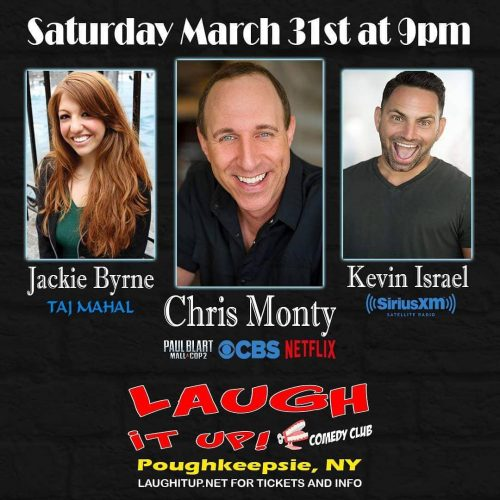 Make your reservations early! getyourtix poughkipsie kevinisraelcomedy jackiebyrne laughitupcc comediansdailyhellip
