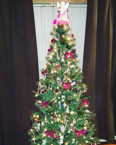Happy December treetrimming holidayfun enjoy