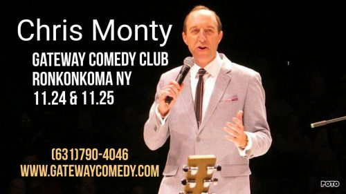 getyourtix longisland Chris Monty returns to Suffolk County Nov 24thhellip