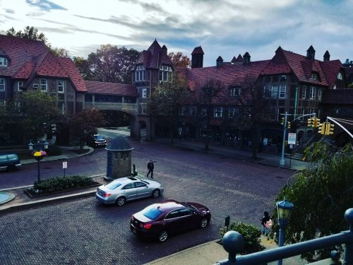 Beautiful fall day in town Very European like is Foresthellip