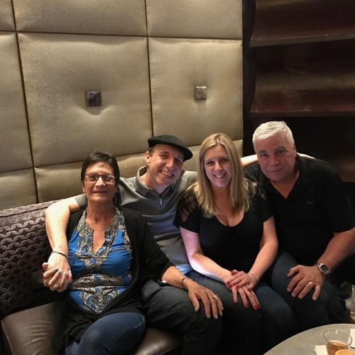 Hanging with La Famiglia Borgata after my show bbar Borgatahellip