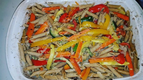 Homeade Pasta Primavera! Thats whats for dinner! healthychoices mangia