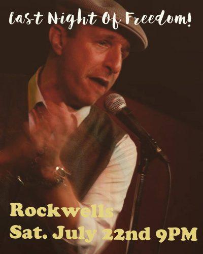Last night of bachelorhood this Saturday July 22nd Rockwells inhellip