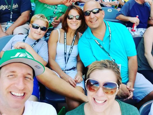 Hanging with the ole gang MetLife nyjets nflsundays
