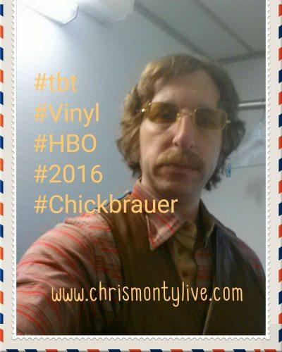 tbt last summer on the set of Vinyl HBO mickjaggerhellip